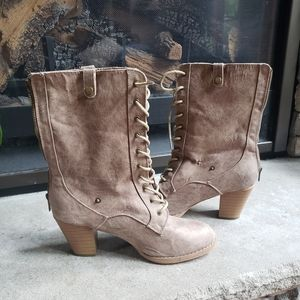 Shoes - Fall booties with heels